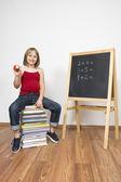 Learning child — Stock Photo