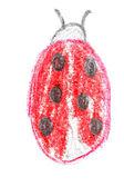 Kleurpotlood tekening — Stockfoto
