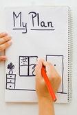 Planning — Foto Stock