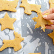 Baking for Christmas — Stock Photo
