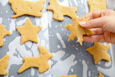 Baking for Christmas — Stock Photo