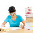 I am busy learning — Stock Photo