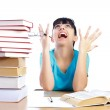 Why is studying so hard ? — Stock Photo