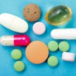 Drugs Closeup - Stockfoto
