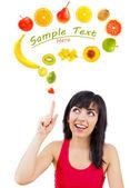 Healthy idea — Stock Photo
