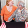 Senior couple lifestyle — Stock Photo