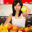 Eat Fruits Be Fit — Stock Photo #21713735
