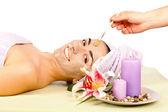 Woman Skincare Treatment — Stock Photo