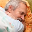 Stock Photo: Senior MResting