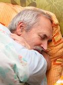 Senior Man Resting — Stock Photo