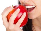 Mmm, Tasty Apple — Stock Photo