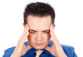 Unbearable Headache — Stock Photo