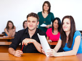 In Classroom — Stock Photo
