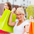 Beautiful Girlfriends Gone Shopping — Stock Photo #27280561