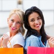 Thumbs up for Shopping — Stock Photo