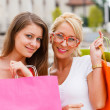 Girls With Shopping Bags — Stock Photo #27280603