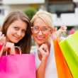 flickvänner shopping — Stockfoto #27280641