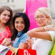 Shopping Girls — Stock Photo #27467205