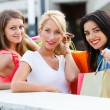 Let's Go Shopping with Friends — Stock Photo