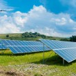 Stock Photo: RENEWABLE SOLAR ENERGY