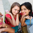 Women Enjoying Shopping Day — Stock Photo #28355333
