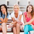Gorgeous Women Out In Town — Stock Photo