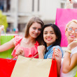 Shopping With Girls — Stock Photo #28355513