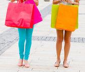 妇女去购物 — 图库照片