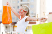 Sound of Relief When Shopping — Stock Photo
