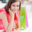 Happy After Shopping — Stock Photo
