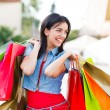 Shopaholic Lifestyle — Stock Photo
