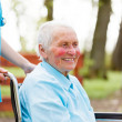 Kind Elderly Lady — Stock Photo