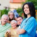 Family Carer — Stock Photo #30089663