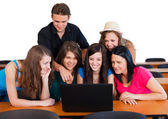 Working Students — Stock Photo