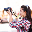 Taking Photos — Stock Photo