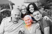 Alzheimers Disease Concept — Stock Photo