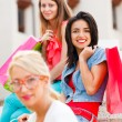 Girlfriends Shopping — Stock Photo #31464705