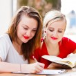 Stock Photo: Homework together