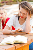 Tiresome Studying — Stock Photo