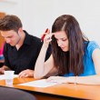 Writing Exam — Stock Photo
