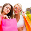 Wonderful Women Gone Shopping — Stock Photo