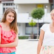 Girls in the City — Stock Photo