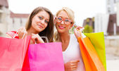 Wonderful Women Gone Shopping — Foto de Stock