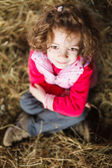 Child with Fuzzy Hair — Stock Photo