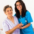 Helpful Nurses with Patients — Stock Photo #34757957
