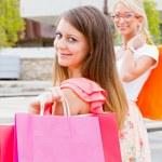 Women shopping — Stock Photo #35527551