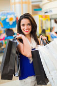 Shopping in Mall — Stock Photo