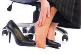 Feet pain — Stock Photo