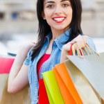 She Loves Shopping — Stock Photo #40987853