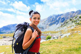 Perfect Time and Place for Hiking — Stock Photo